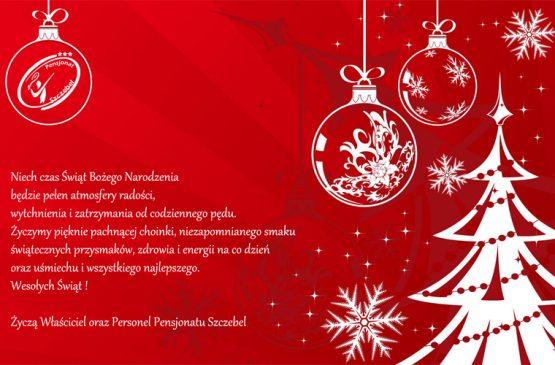 Przerwa świąteczna w Pensjonacie i Restauracji SZCZEBEL